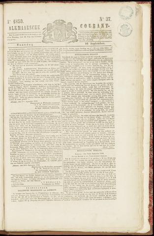 Alkmaarsche Courant 1850-09-16