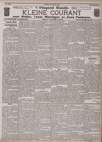Vliegend blaadje : nieuws- en advertentiebode voor Den Helder 1914-02-21