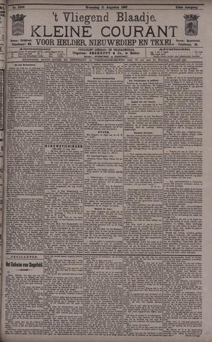Vliegend blaadje : nieuws- en advertentiebode voor Den Helder 1897-08-11