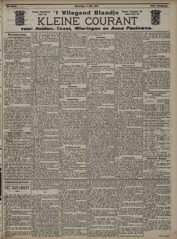 Vliegend blaadje : nieuws- en advertentiebode voor Den Helder 1907-05-11