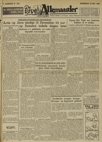 De Vrije Alkmaarder 1948-12-30