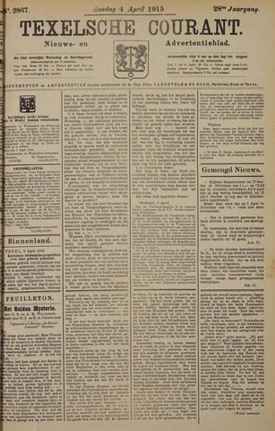 Texelsche Courant 1915-04-04