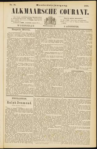 Alkmaarsche Courant 1898-08-03