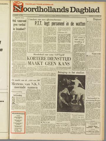 Noordhollands Dagblad : dagblad voor Alkmaar en omgeving 1968-11-28