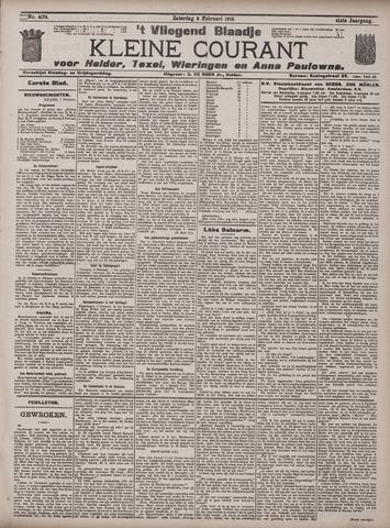 Vliegend blaadje : nieuws- en advertentiebode voor Den Helder 1913-02-08
