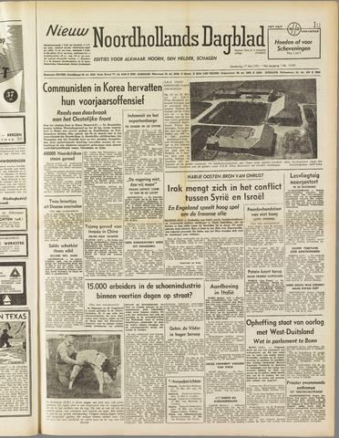Nieuw Noordhollandsch Dagblad : voor Alkmaar en omgeving 1951-05-17