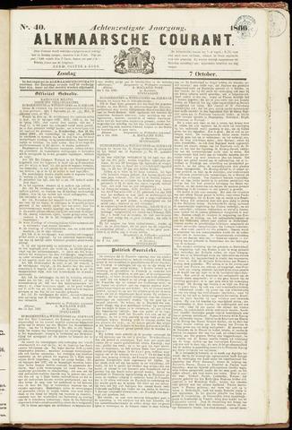 Alkmaarsche Courant 1866-10-07