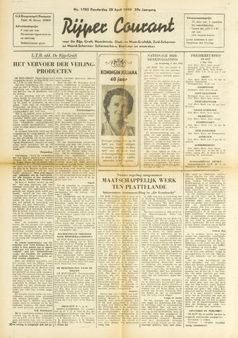 Rijper Courant 1949-04-28