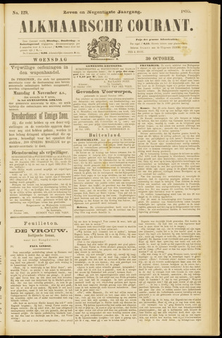 Alkmaarsche Courant 1895-10-30