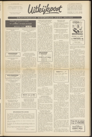 Uitkijkpost : nieuwsblad voor Heiloo e.o. 1963-01-24