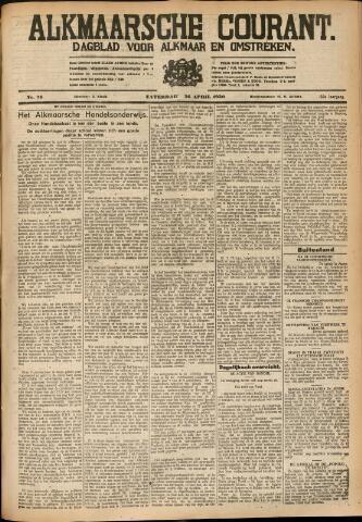 Alkmaarsche Courant 1930-04-26