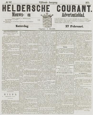Heldersche Courant 1875-02-27