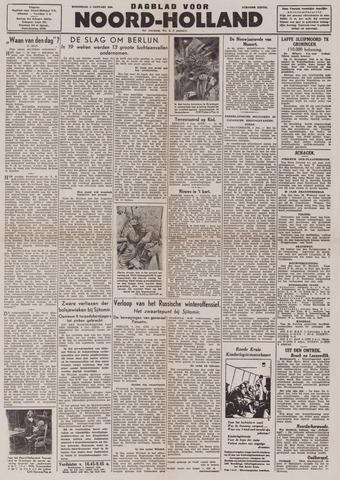 Dagblad Noord-Holland, Schager editie 1944-01-05