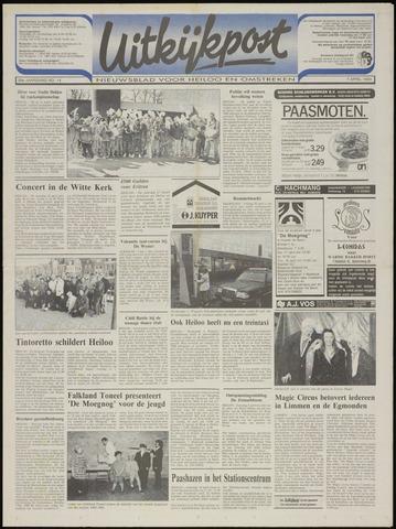 Uitkijkpost : nieuwsblad voor Heiloo e.o. 1993-04-07