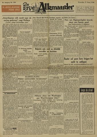 De Vrije Alkmaarder 1948-03-31