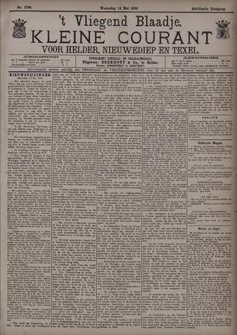 Vliegend blaadje : nieuws- en advertentiebode voor Den Helder 1890-05-14