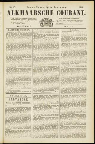 Alkmaarsche Courant 1889-07-24