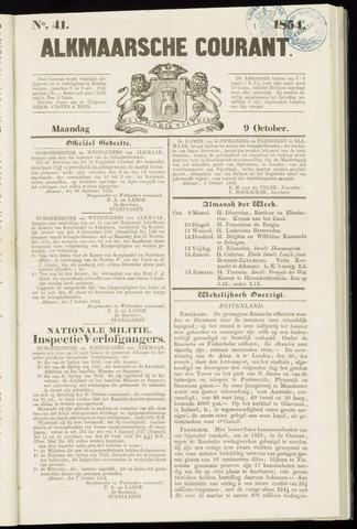 Alkmaarsche Courant 1854-10-09