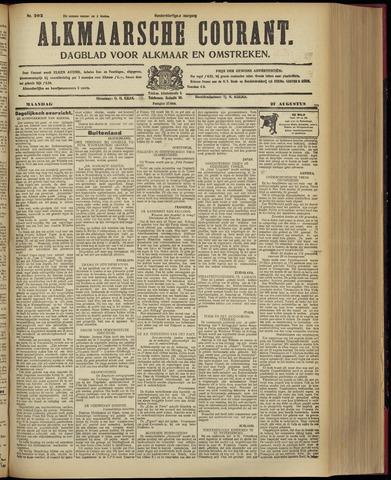 Alkmaarsche Courant 1928-08-27