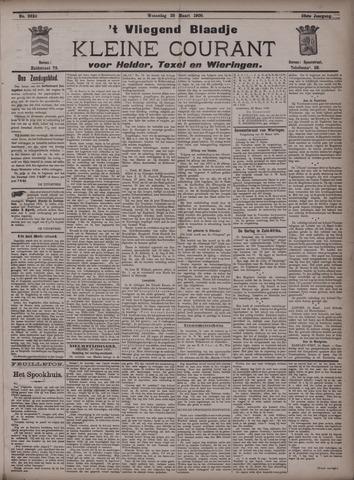 Vliegend blaadje : nieuws- en advertentiebode voor Den Helder 1900-03-28