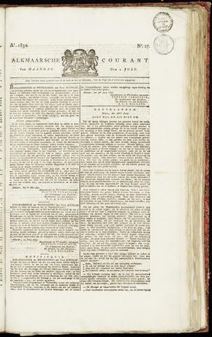 Alkmaarsche Courant 1832-07-02