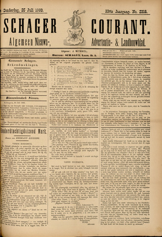 Schager Courant 1889-07-25
