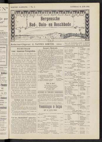 Bergensche bad-, duin- en boschbode 1918-06-15