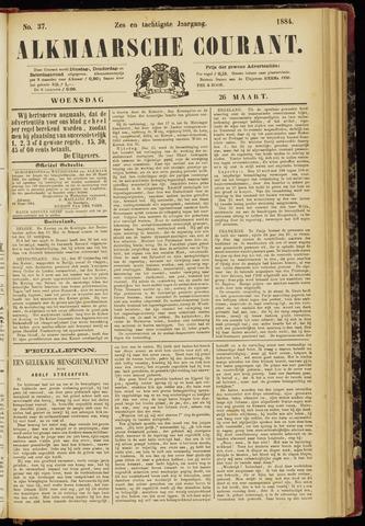 Alkmaarsche Courant 1884-03-26