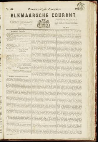 Alkmaarsche Courant 1865-07-30