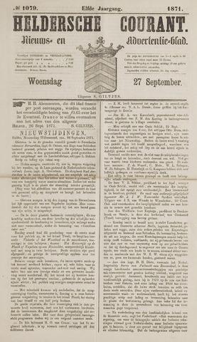 Heldersche Courant 1871-09-27
