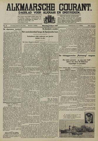 Alkmaarsche Courant 1937-03-08