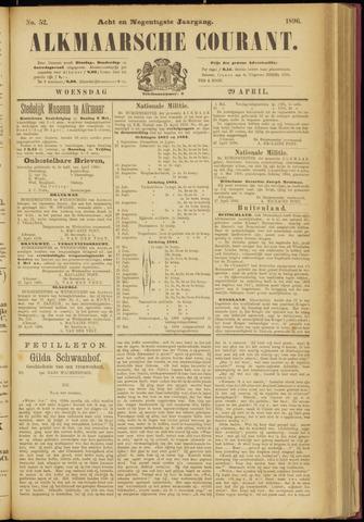 Alkmaarsche Courant 1896-04-29