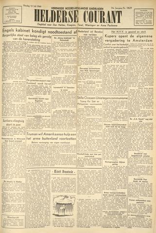 Heldersche Courant 1949-07-12