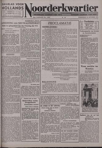 Dagblad voor Hollands Noorderkwartier 1941-10-29