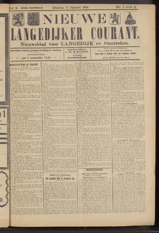 Nieuwe Langedijker Courant 1924-01-15