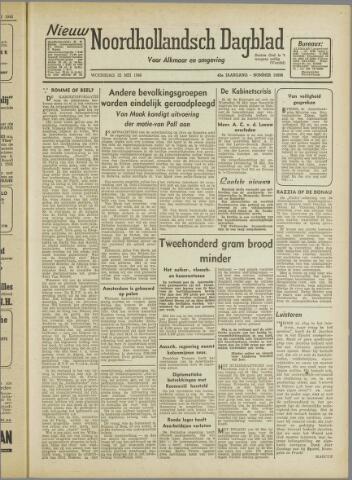 Nieuw Noordhollandsch Dagblad : voor Alkmaar en omgeving 1946-05-22