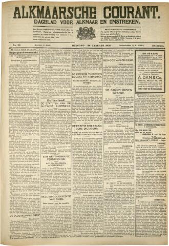 Alkmaarsche Courant 1930-01-28