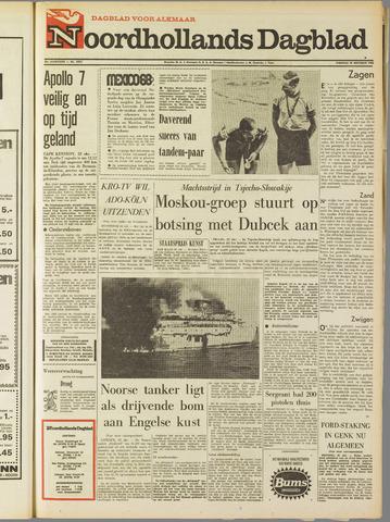 Noordhollands Dagblad : dagblad voor Alkmaar en omgeving 1968-10-22