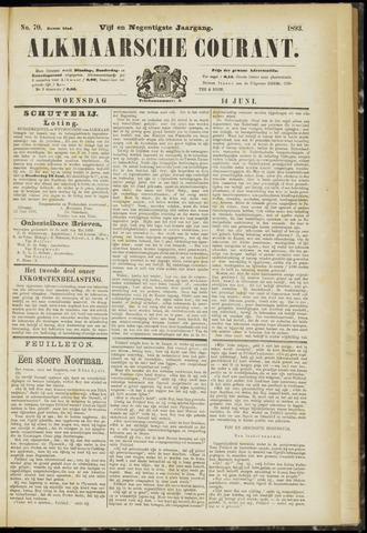 Alkmaarsche Courant 1893-06-14