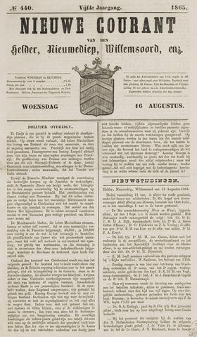 Nieuwe Courant van Den Helder 1865-08-16