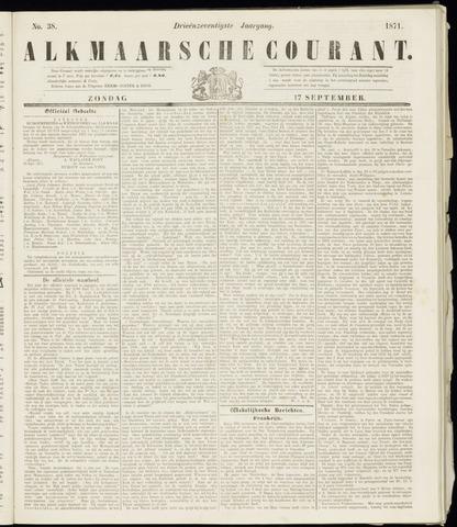 Alkmaarsche Courant 1871-09-17