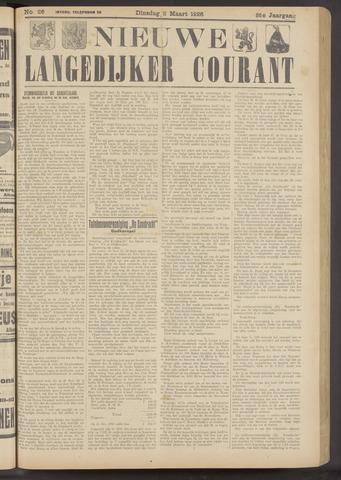 Nieuwe Langedijker Courant 1926-03-02