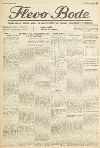 Flevo-bode: nieuwsblad voor Wieringen-Wieringermeer 1947-05-24