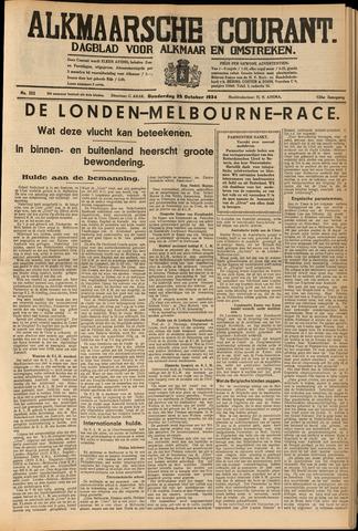 Alkmaarsche Courant 1934-10-25