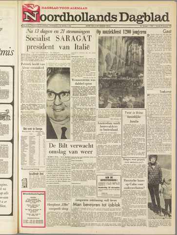 Noordhollands Dagblad : dagblad voor Alkmaar en omgeving 1964-12-29