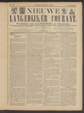 Nieuwe Langedijker Courant 1898-10-30