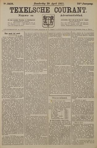 Texelsche Courant 1911-04-20
