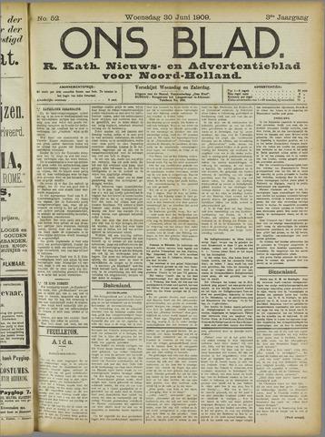 Ons Blad : katholiek nieuwsblad voor N-H 1909-06-30