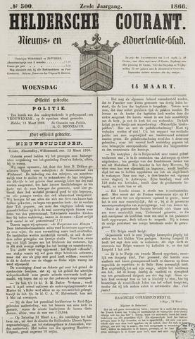 Heldersche Courant 1866-03-14