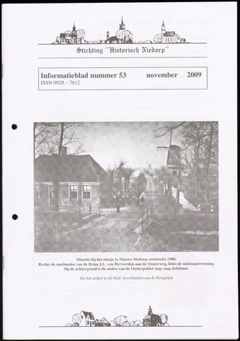 Informatieblad stichting Historisch Niedorp 2009-11-01